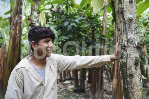 Bananenbauer (Ecuador, UROCAL) - lobOlmo Fair-Trade-Fotoarchiv