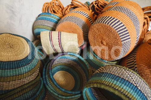 Bolgakörbe (Ghana, TradeAID) - lobOlmo Fair-Trade-Fotoarchiv
