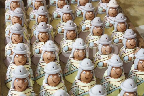 Glasierte Keramik-Rohlinge (Bolivien, Ayni) - lobOlmo Fair-Trade-Fotoarchiv