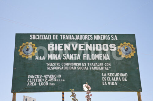 Goldgräberdorf Santa Filomena (Peru, SOTRAMI) - lobOlmo Fair-Trade-Fotoarchiv