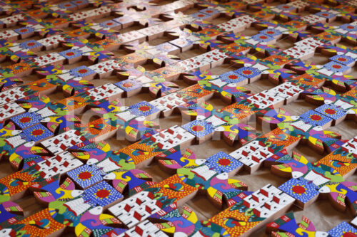 Holzkreuze (El Salvador, La Semilla de Dios) - lobOlmo Fair-Trade-Fotoarchiv