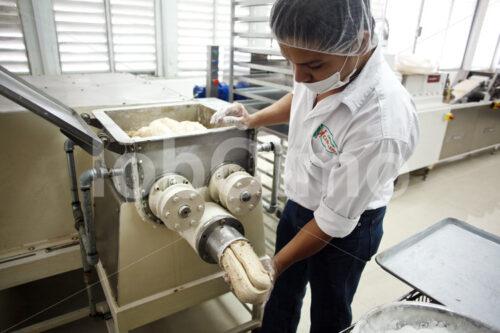 Kaugummiherstellung (Mexiko, Chicza) - lobOlmo Fair-Trade-Fotoarchiv