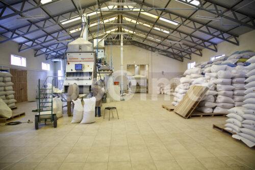 Quinoa-Lager (Bolivien, ANAPQUI) - lobOlmo Fair-Trade-Fotoarchiv