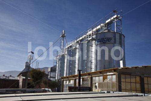 Quinoa-Silos (Bolivien, ANAPQUI) - lobOlmo Fair-Trade-Fotoarchiv