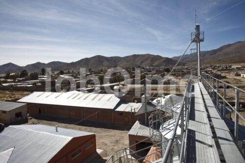 Quinoa-Verarbeitungsanlage (Bolivien, ANAPQUI) - lobOlmo Fair-Trade-Fotoarchiv
