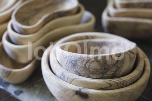 Schalen aus Olivenholz (Palästina, BFTA) - lobOlmo Fair-Trade-Fotoarchiv