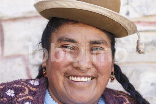 Strickerin (Peru, CIAP) - lobOlmo Fair-Trade-Fotoarchiv