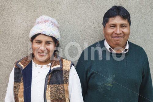 Töpferehepaar (Bolivien, Ayni) - lobOlmo Fair-Trade-Fotoarchiv