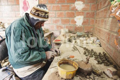 Töpfern (Bolivien, Ayni) - lobOlmo Fair-Trade-Fotoarchiv