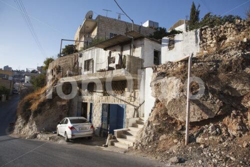 Wohnhaus und Schnitzwerkstatt (Palästina, BFTA) - lobOlmo Fair-Trade-Fotoarchiv